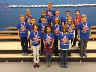 Image of Bibich Elementary Spell Bowl team