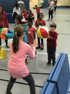 Bibich Early Childhood classes participated in Unified Game Day on February 26th.